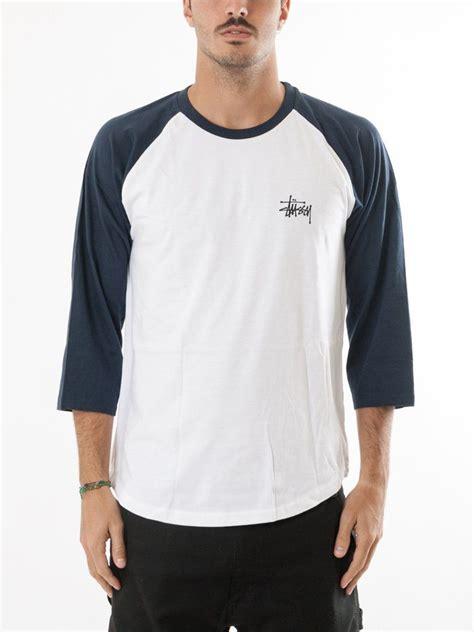 Tshirt Raglan Stussy basic stussy raglan stussy stussy shirts