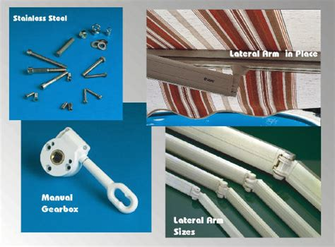 Retractable Awning Hardware by Retractable Awning Replacement Parts For Retractable Awning