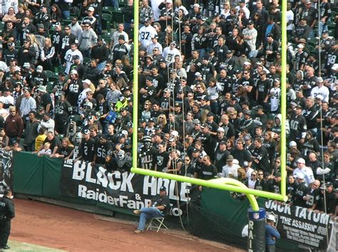 raiders black hole section swine flu quot forced vaccination quot is a conspiracy created by