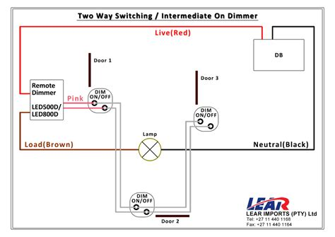 simple two wire rotary dimmer wiring diagram 44 wiring