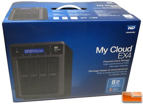 wd my cloud ex4 8tb personal cloud storage nas review