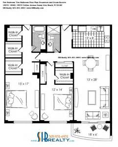 oceanview house plans oceanview and ocean reserve sunny isles beach floor plan 2bed 2 bath sib realty com sib