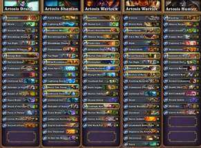 warlock deck hearthstone hearthstone news all decklists from seatstory cup