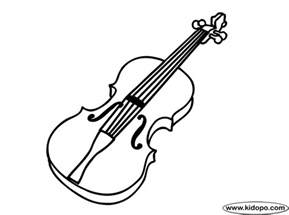 violin coloring pages violin 3 coloring page