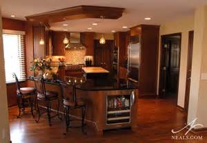 Kitchen Center Island With Seating Multicolor Contemporary Kitchen Montgomery Oh