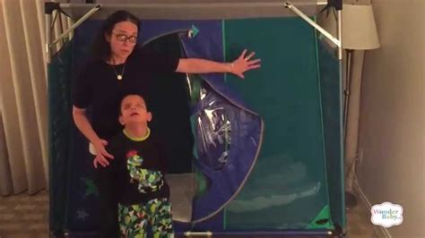 bed net for kids with special needs travel pod special needs bed youtube