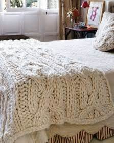 chunky cable knit blanket a place to rest pinterest