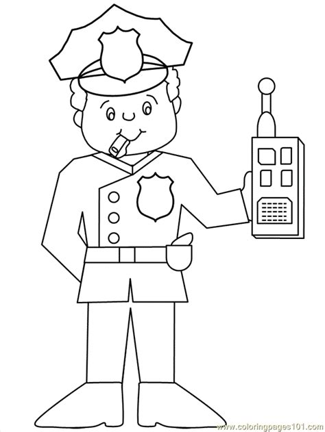 thank you coloring page for police officer police officer coloring pages for kids az coloring pages