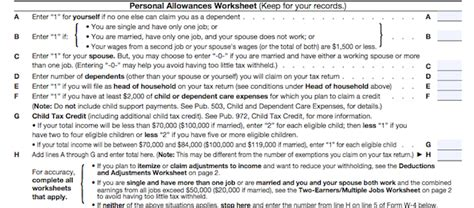 W4 Worksheet Calculator by Related Keywords Suggestions For Maximum Allowances W 4