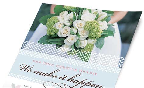 Wedding Stationery Brochure Pdf by Wedding Event Marketing Brochures Flyers Postcards