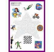 Crossword And WordSerch For Kids / ESL
