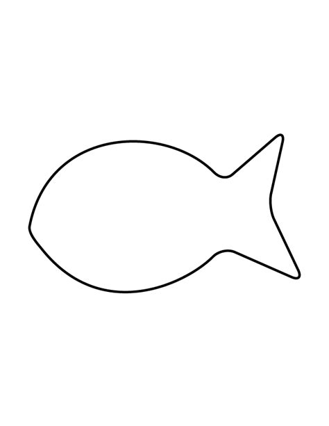 Free Printable Fish Stencils fish stencil images search