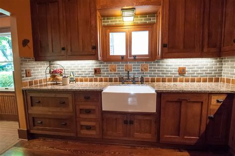 Frank Lloyd Wright Kitchen Design | frank lloyd wright inspired kitchen craftsman kitchen