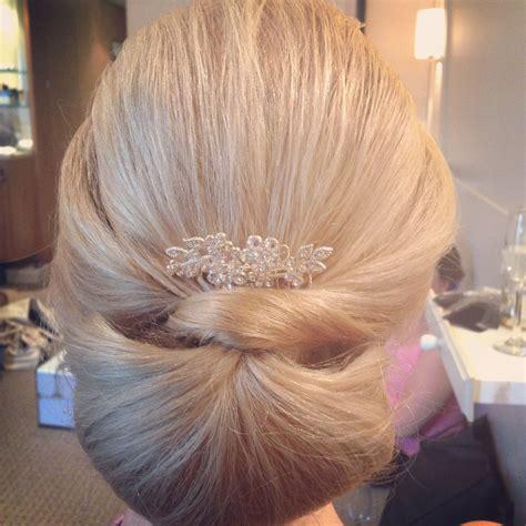 classic chignon wedding hairstyles