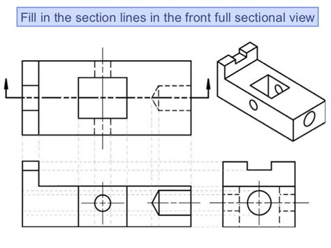 sectional view drawing chapter 3 sectioning