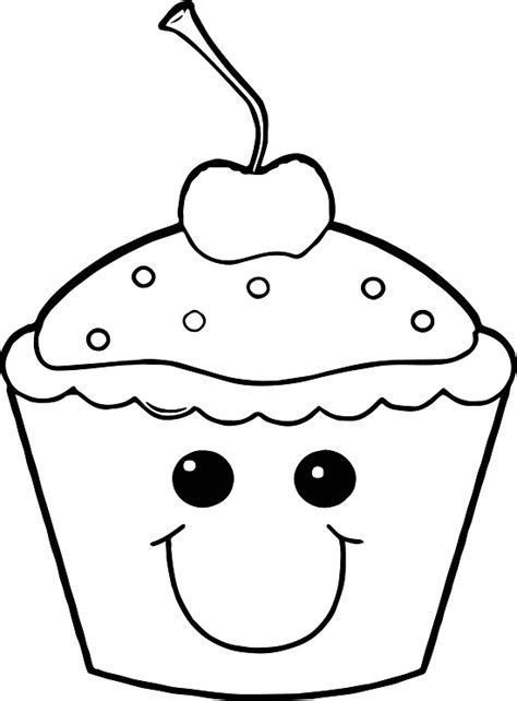 cupcake color printable cupcake coloring pages coloring me