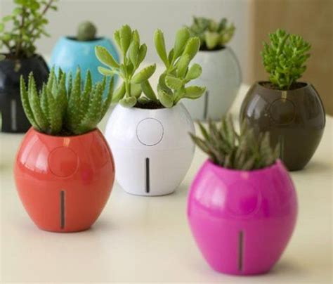 Vase Sepeda Anyaman Bunga Hias 8 best indoor self watering planters for the black thumbed design lover treehugger