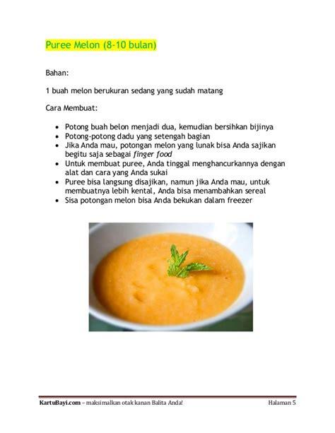takaran membuat oralit untuk bayi resep melon untuk bayi