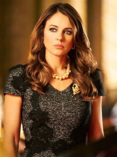 Drama In Liz Hurleys by Elizabeth Hurley Takes The Reigns In The Royals