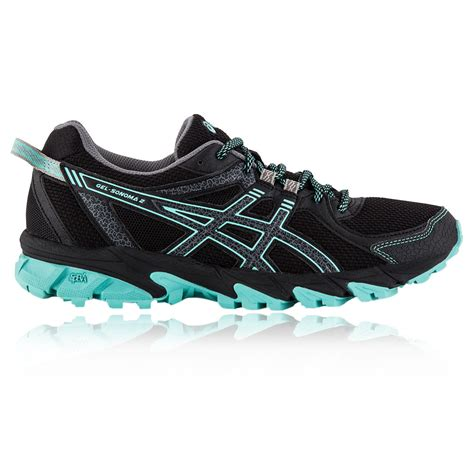 asics womens black running shoes factory outlet asics gel sonoma 2 womens trail running