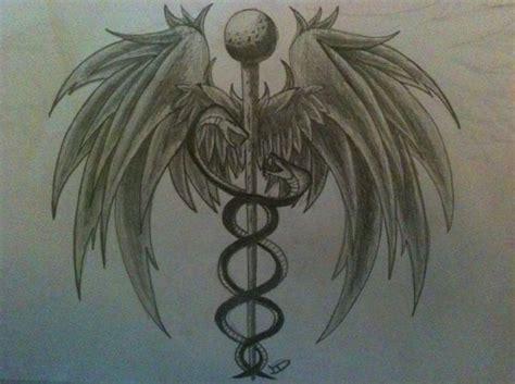 critical tattoo best 25 caduceus ideas on