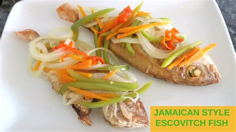 mel s kitchen how to make jamaican style escovitch fish