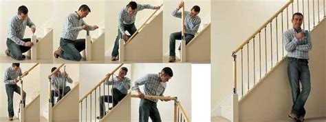 Installing A Stair Banister by Fusion Pine Handrails To Order Trade Price List