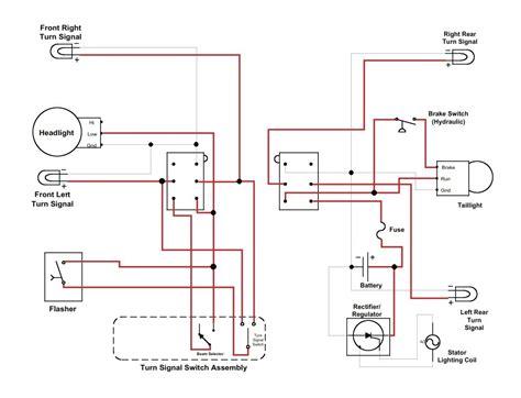 1993 xr650l wiring diagram wiring diagram manual
