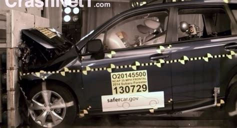 subaru forester crash test rating the 2014 subaru forester as safe by the nhtsa
