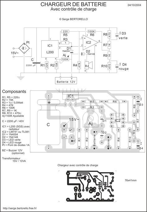 Chargeur De Batterie 151 by Construisez Votre Chargeur De Batterie Au Plomb