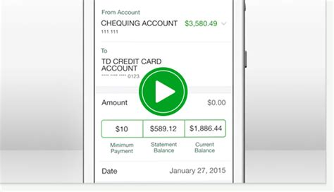 td easyweb mobile td app electronic banking td canada trust