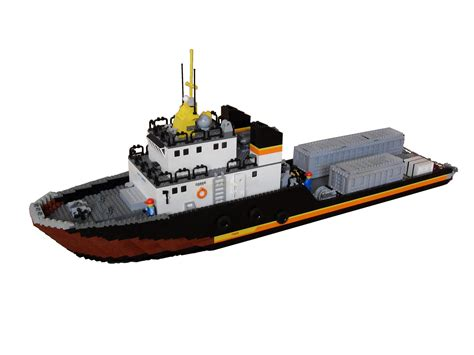 supply vessel rigs lego and lego ship - Lego Offshore Boat