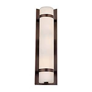Vertical Vanity Lights Bronze Vertical Wall Indoor Outdoor Light 15 1 4 Inches Vanity Lighting Fixtures