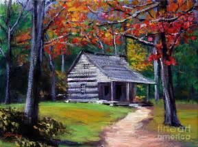 cabin plein aire by david lloyd