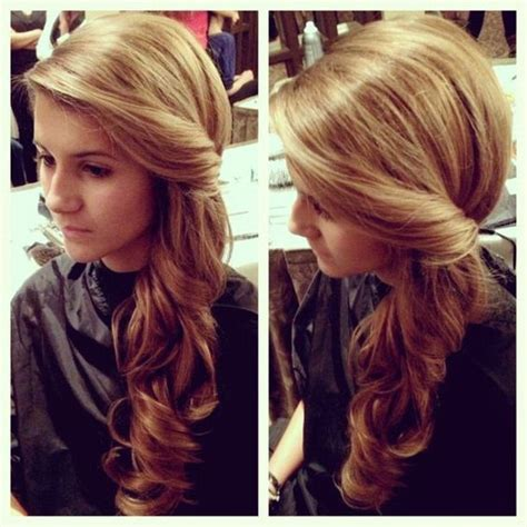 hairstyles to the side with curls for prom side swept hairstyles for prom prom hairstyles side