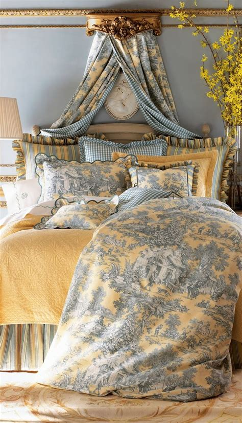 toile bedroom toile bedrooms thedailybasics future home s