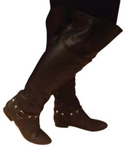 shoedazzle boots shoedazzle black boots anay by size 9 5 45