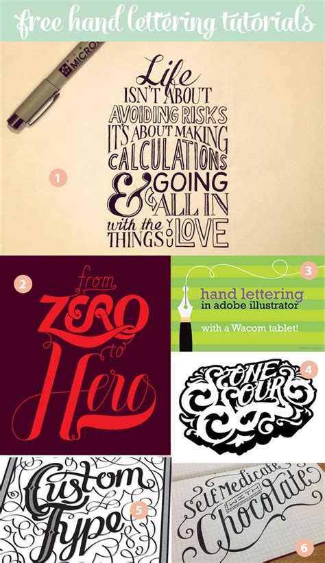 typography tutorial hand lettering 24 awesome hand lettering tutorials typography creative