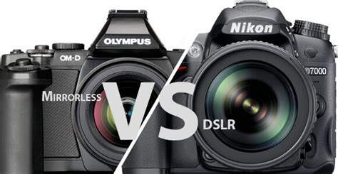 mirrorless vs dslr mirrorless vs dslr which is right for you