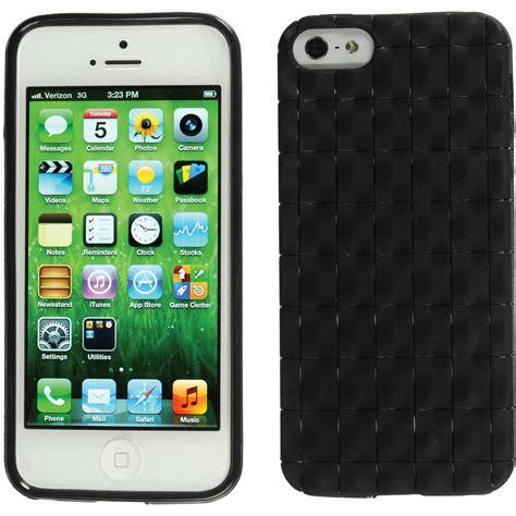 xuma textured flex case  iphone   se black