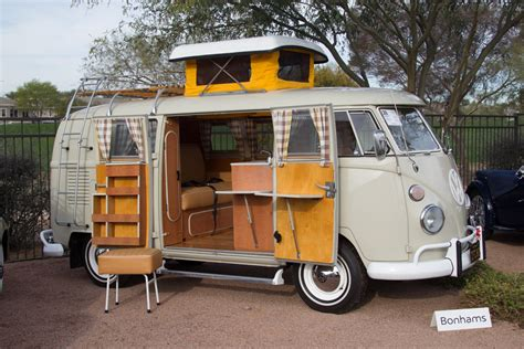 volkswagen type  westfalia camper chassis   scottsdale auctions