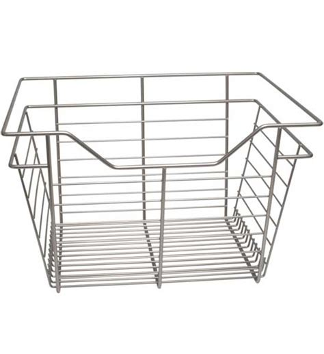 wire basket drawer 17 x 11 x 14 inch in custom closet