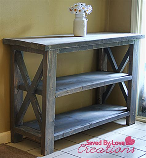 Diy Console Table Make A Custom Console Table