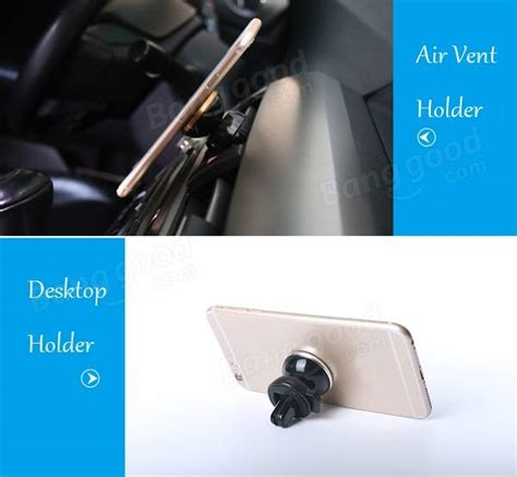360 Degrees Auto Lock Car meidi car air vent one touch self lock magnetic phone holder 360 degrees rotation strong magnet
