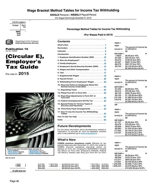 tax table update service for payroll and industrial