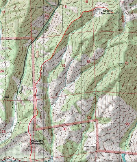 on a topographic map what is used to show elevation tibbetts topographic map photos diagrams topos
