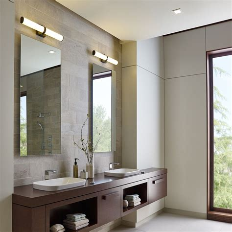 Bathroom Modern Lighting by Lynk Bath Vanity Light In 2019 Modern Bathroom Lighting
