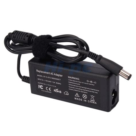 Adaptor Charger Laptop Hp ac adapter charger for hp pavillion dv4 dv5 dv6 dv7 g60 laptop power supply cord ebay