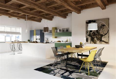 open space soggiorno cucina