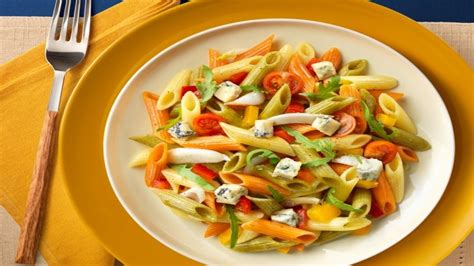 tri colored vegetable penne chicken and penne pasta recipes food network